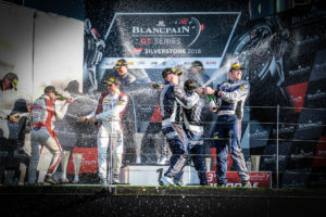 BES Silverstone overall Podium | © Blancpain GT Series