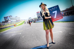BSS Brand Hatch Grid Girl | © Blancpain GT Series