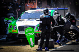 BSS Brands Hatch Bentley Team Parker Racing Pitsop | © Blancpain GT Series