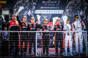 BSS Brands Hatch Podim Race 1 | © Blancpain GT Series