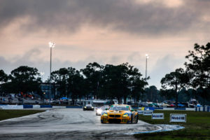 Sebring12 TurnerMotorsport BMWM6GT3 #96 - Bill Auberlen, Robby Foley, Dillon Machavern | © BMW Motorsport