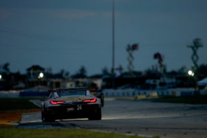 Sebring12 GTLM P4 - RLL Racing BMWM8 #24 Jesse Krohn, John Edwards, Connor De Phillippi | © BMW Motorsport