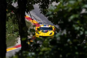 IMSA RoadAmerica P4 in GTLM - #3 Corvette C7.R: Jan Magnussen, Antonio Garcia | © Corvette Racing