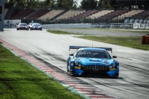 BlancpainGT Series Vice Champion Overall and P3 in Endurance Cup - Maro Engel, Luca Stolz & Yelmer Burrmann - Black Falcon AMG #4 | © SRO