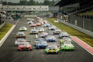 GTworldCH Hungaroring Start Race II | © SRO