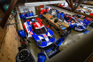 Time to say good bye to the FORD GT - MSAatMO Mid-Ohio Pits | © FORD